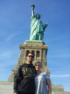 My soul mate and I having a blast in New York. Just a little glimpse of the spectacular city.